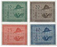Liechtenstein 1953 - Michel  315-318 - Postfrisk