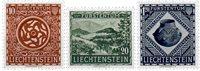 Liechtenstein 1953 - Michel  319-321 - Neuf avec charnière