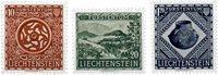 Liechtenstein 1953 - Michel  319-321 - Neuf