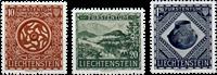 Liechtenstein 1953 - Michel  319-321 - Postfrisk