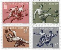 Liechtenstein 1954 - Michel  322-325 - Ubrugt