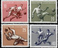 Liechtenstein 1954 - Michel  322-325 - Postfrisk