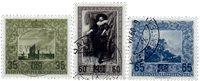 Liechtenstein 1954 - Michel  326-328 - Oblitéré