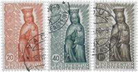 Liechtenstein 1954 - Michel  329-331 - Oblitéré