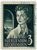 Liechtenstein 1955 - Michel  333 - Oblitéré