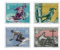 Liechtenstein 1955 - Michel  334-337 - Neuf