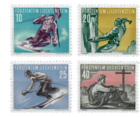 Liechtenstein 1955 - Michel  334-337 - Postfrisk