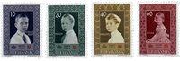 Liechtenstein 1955 - Michel  338-341 - Neuf