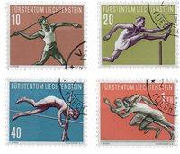 Liechtenstein 1956 - Michel  342-345 - Oblitéré
