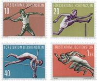 Liechtenstein 1956 - Michel  342-345 - Neuf
