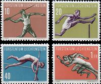 Liechtenstein 1956 - Michel  342-345 - Postfrisk