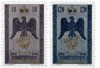 Liechtenstein 1956 - Michel  346-347 - Neuf