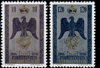 Liechtenstein 1956 - Michel  346-347 - Postfrisk