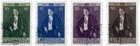 Liechtenstein 1956 - Michel  348-351 - Stemplet