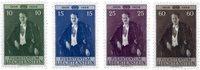 Liechtenstein 1956 - Michel  348-351 - Neuf