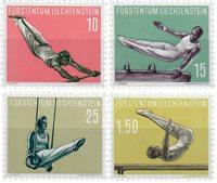 Liechtenstein 1957 - Michel  353-356 - Neuf avec charnière