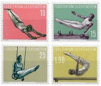 Liechtenstein 1957 - Michel  353-356 - Neuf