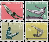 Liechtenstein 1957 - Michel  353-356 - Postfrisk