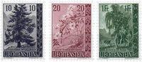 Liechtenstein 1957 - Michel  357-359 - Neuf