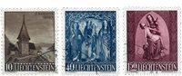 Liechtenstein 1957 - Michel  362-364 - Oblitéré