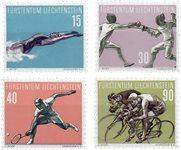 Liechtenstein 1958 - Michel  365-368 - Neuf