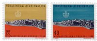 Liechtenstein 1958 - Michel  369-370 - Postfrisk