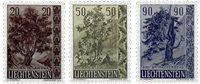 Liechtenstein 1958 - Michel  371-373 - Neuf