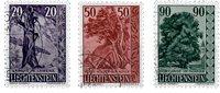 Liechtenstein 1959 - Michel  377-379 - Stemplet