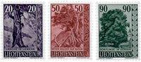 Liechtenstein 1959 - Michel  377-379 - Neuf