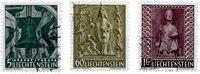 Liechtenstein 1959 - Michel  386-388 - Stemplet