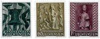 Liechtenstein 1959 - Michel  386-388 - Ubrugt