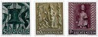 Liechtenstein 1959 - Michel  386-388 - Postfrisk
