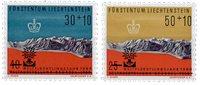 Liechtenstein 1960 - Michel  389-390 - Postfrisk