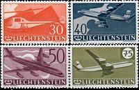 Liechtenstein 1960 - Michel  391-394 - Postfrisk
