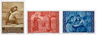 Liechtenstein 1960 - Michel  395-397 - Ubrugt
