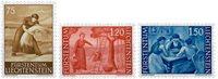 Liechtenstein 1960 - Michel  395-397 - Postfrisk