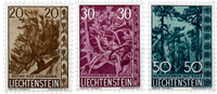 Liechtenstein 1960 - Michel  399-401 - Postfrisk