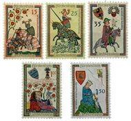 Liechtenstein 1961 - Michel  406-410 - Postfrisk