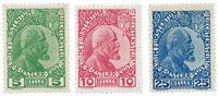 Liechtenstein 1912 - Michel 1-3ya - Postfrisk