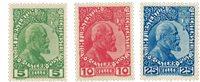 Liechtenstein 1912 - Michel 1-3 - Ubrugt