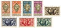 Liechtenstein 1928 - Michel 82-89 - Ubrugt