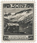 Liechtenstein - 1930 - Michel 102, nuovo