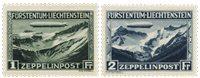 Liechtenstein 1931 - Michel 114-115 - Neuf avec charnière