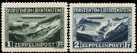 Liechtenstein 1931 - Michel 114-115 - Ubrugt
