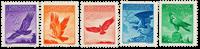 Liechtenstein 1934 - Michel 143-147 - Postfrisk