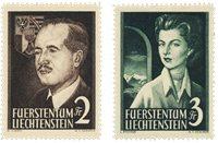 Liechtenstein 1955 - Michel 332-333 - Neuf