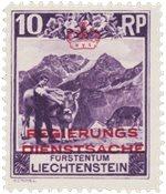 Liechtenstein 1932 - Michel D2 - Neuf