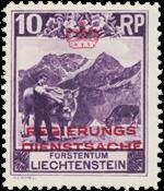 Liechtenstein 1932 - Michel D2 - Postfrisk