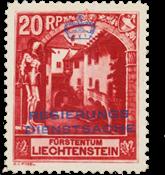 Liechtenstein 1932 - Michel D3 - Postfrisk