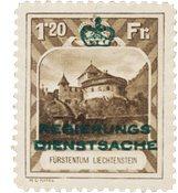 Liechtenstein 1932 - Michel D8 - Neuf